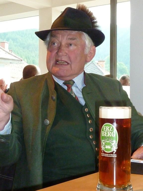 Unser lieber Freund Hans Martschin..