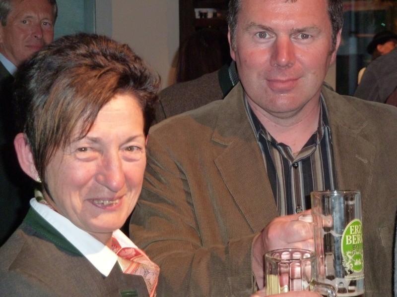 Bgmin. Holzweber und GR Stromberger
