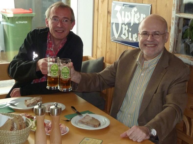 Besuch von Bgm.Hubner (Vordernberg) und MS-Dir. Freiinger