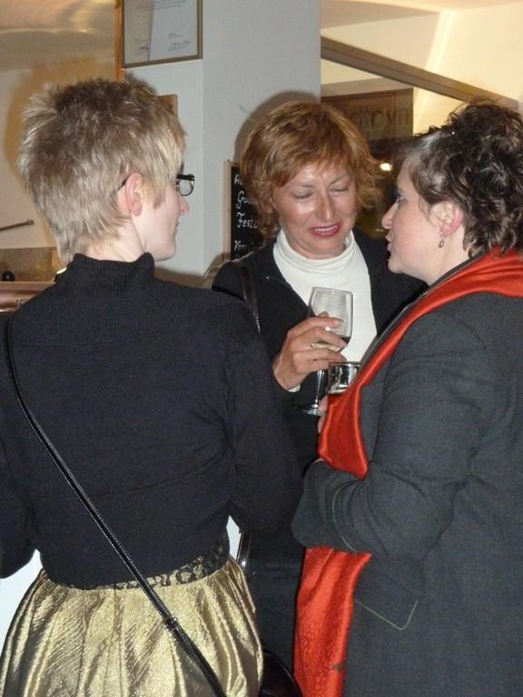 Die Damen Hainberger, Illmaier und Fahrsbacher