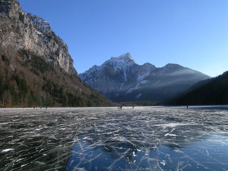 Spiegeleis am See