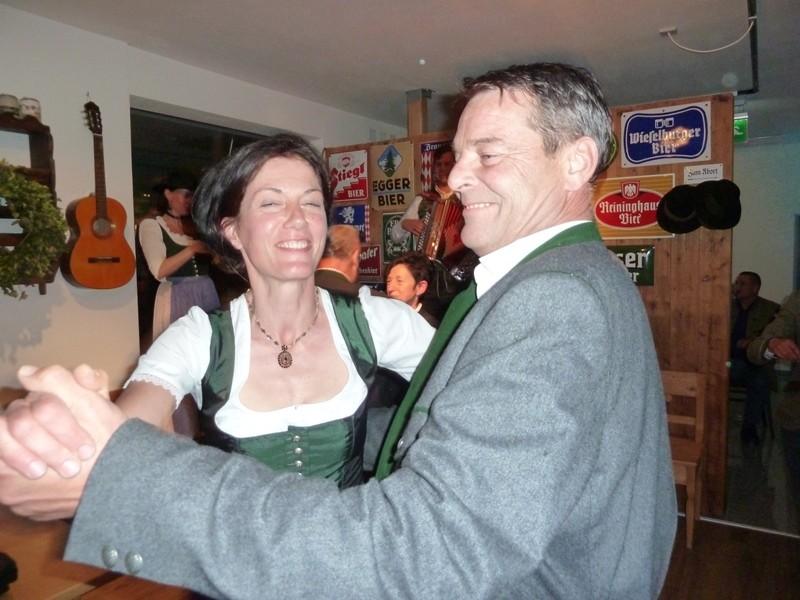 Ein Tanzerl mit Bernhard