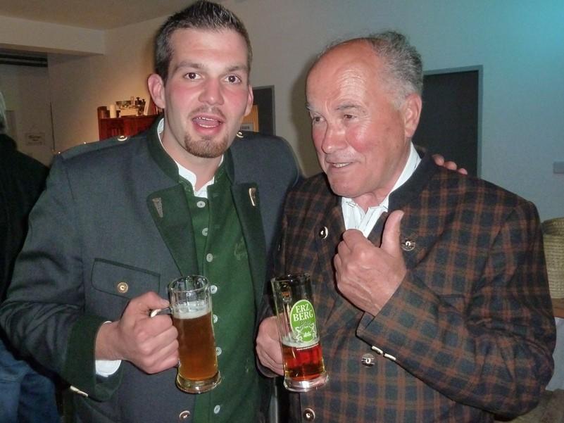 Stefan und Großvater Hermann