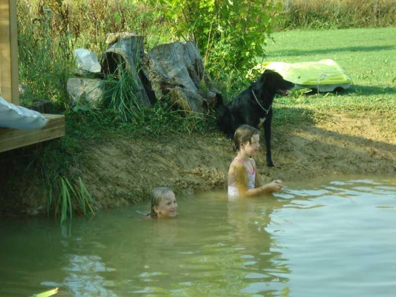 Spass im Teich