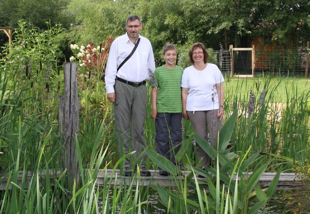 Thomas, Benjamin und Kathrin