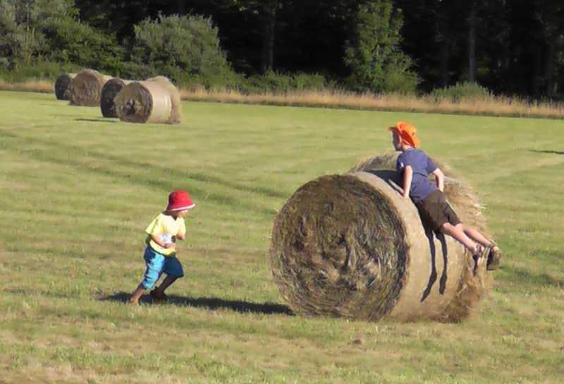 Die Kids haben Spass