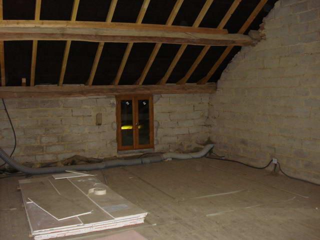 Der Dachstock soll ausgebaut werden