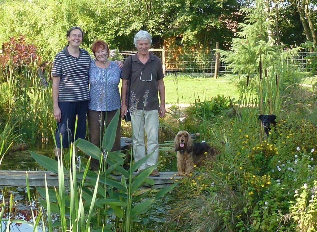 Jean-Paul, Ruth & Wali