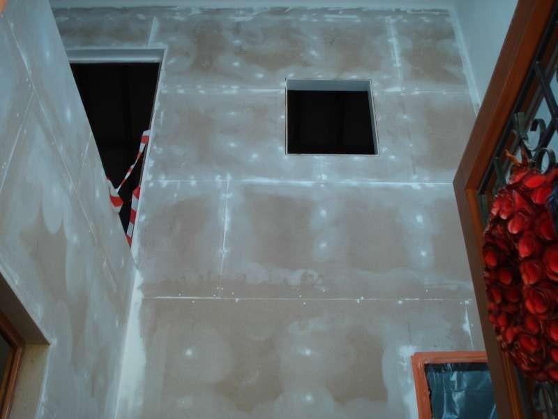 Das Treppenhaus ist vorbereitet - fehlt nur noch die Treppe!
