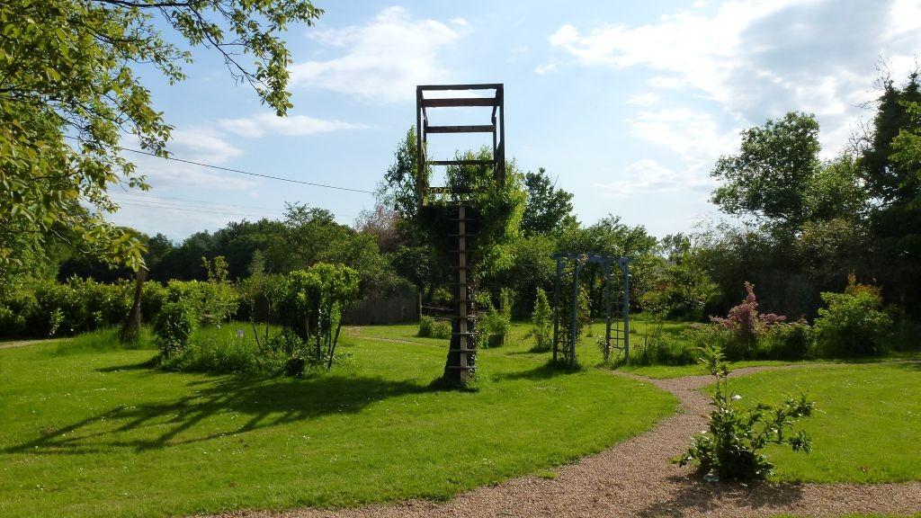 Das Baumhaus wird langsam zum grünen Nest