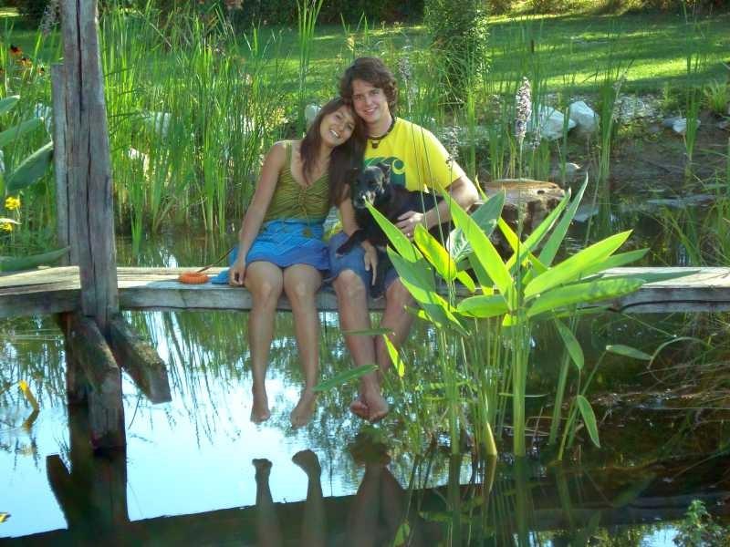 Désirée und Noah - zwei Turteltäubchen