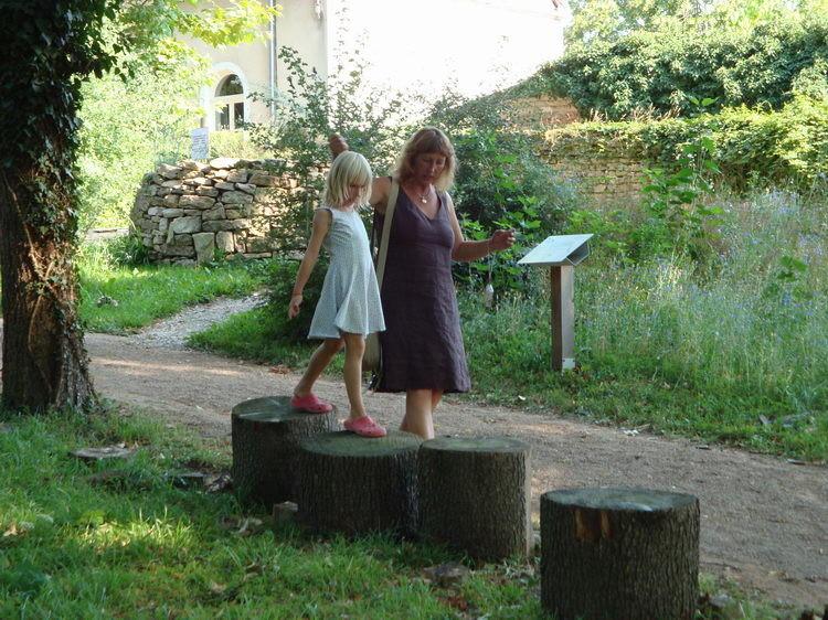 Besuch im Centre Eden in Cuisery