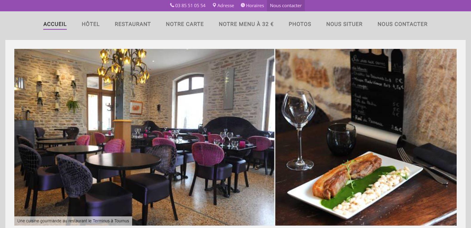 Hotel Restaurant Terminus à Tournus