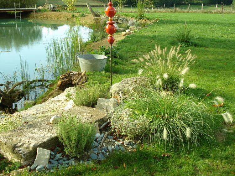 Der Steingarten wird immer schöner