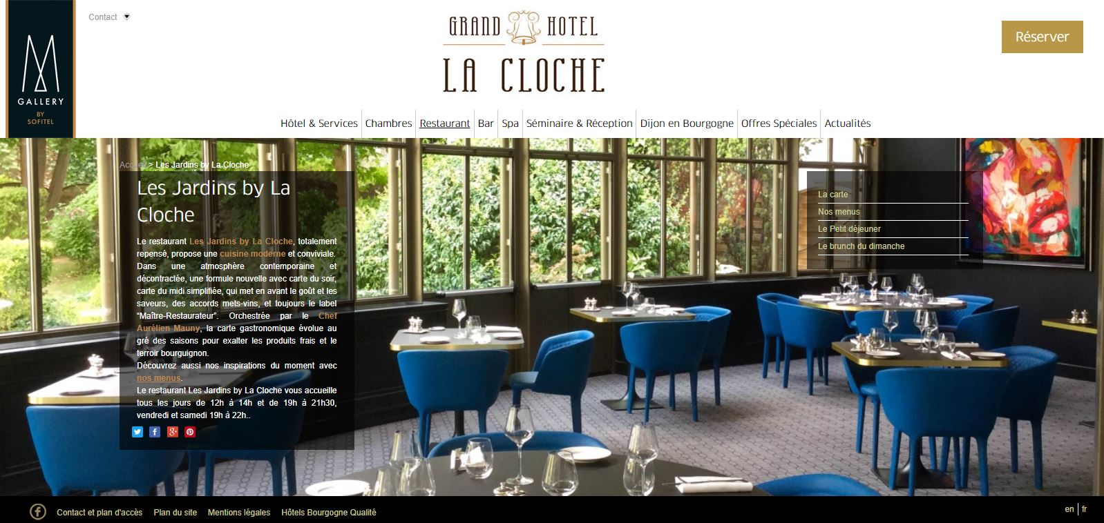 Le Grand-Hôtel La Cloche à Dijon