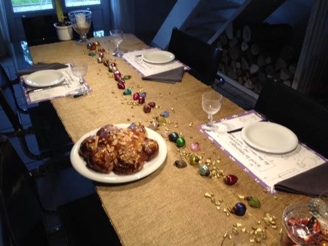 6. Januar - Königskuchen von Barbara selbstgemacht
