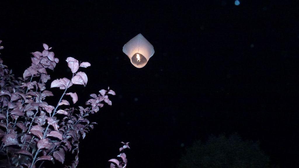 Ein Lichtlein fliegt