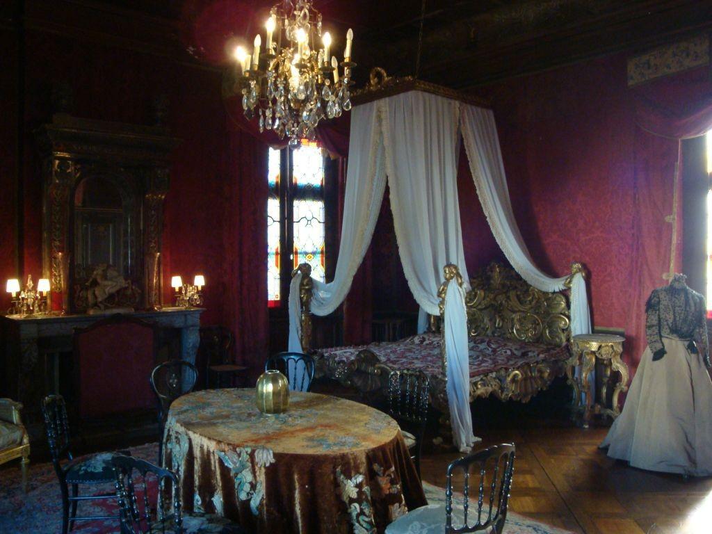 Schloss Cormatin - ein Himmelbett