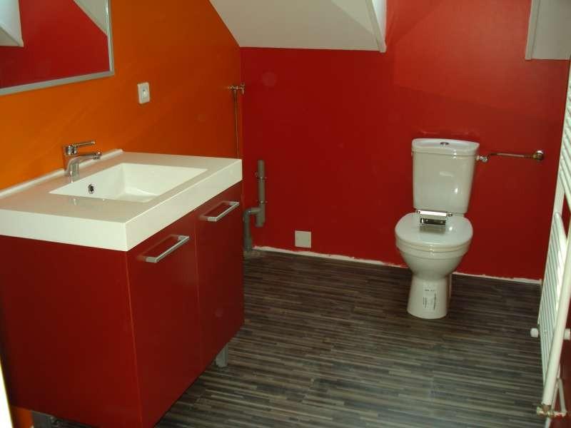 Auch das Badezimmer ist eingebaut
