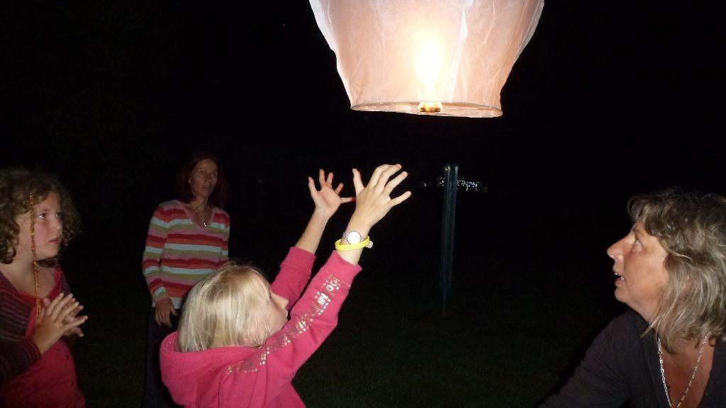 Wir lassen ein Lichtlein fliegen