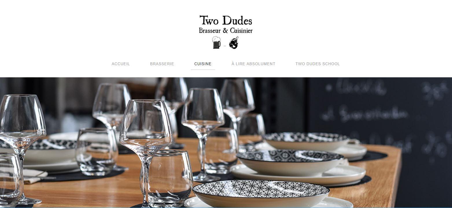Brasseur & Cuisinier Two Dudes à Tournus