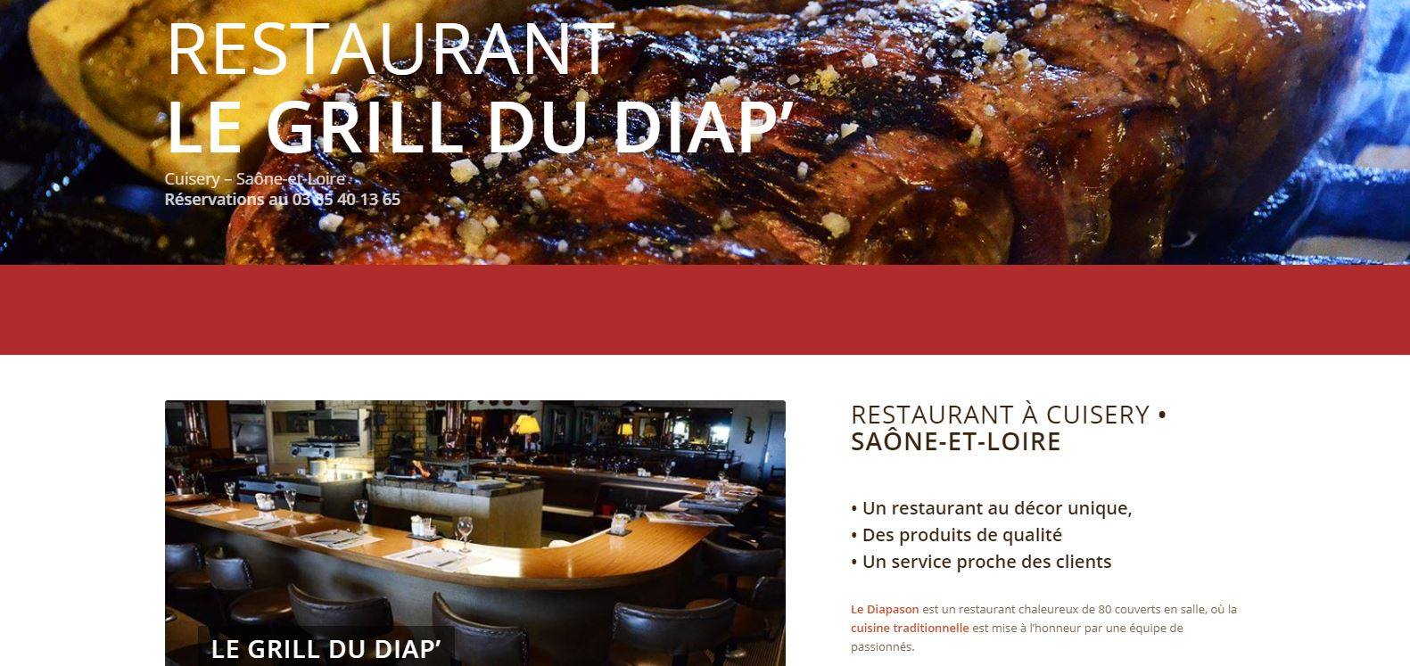 Restaurant Le Grill du Diap' in Cuisery