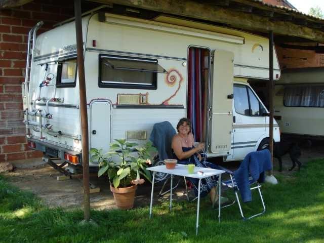 Veronika kommt zu Besuch und bleibt für einige Wochen - sie wohnt im Wömi