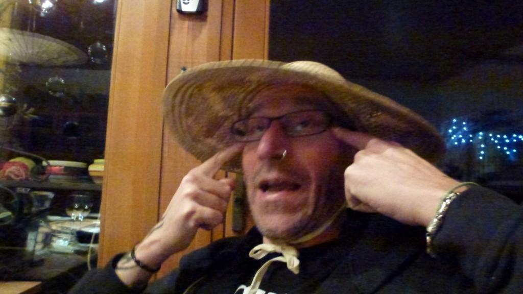 Peter am Skypen