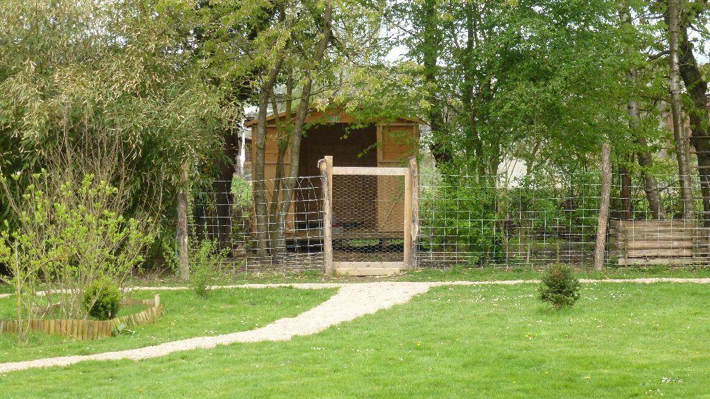 Ein neuer Weg zum Hühnerhaus