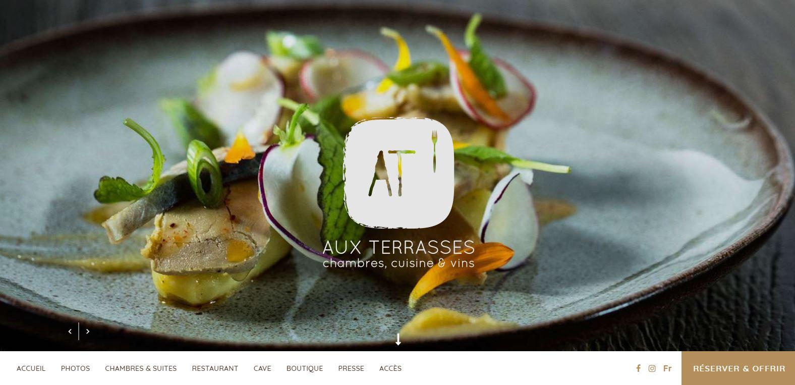 Restaurant Aux Terrasses à Tournus