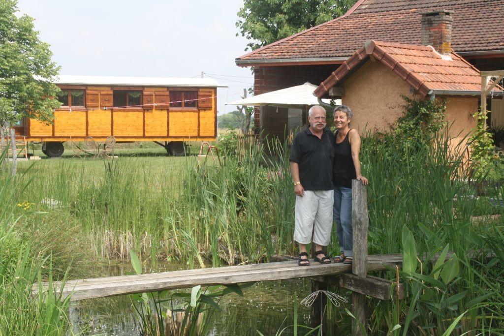 Ernst und Brigitte, meine ersten Gäste 2011