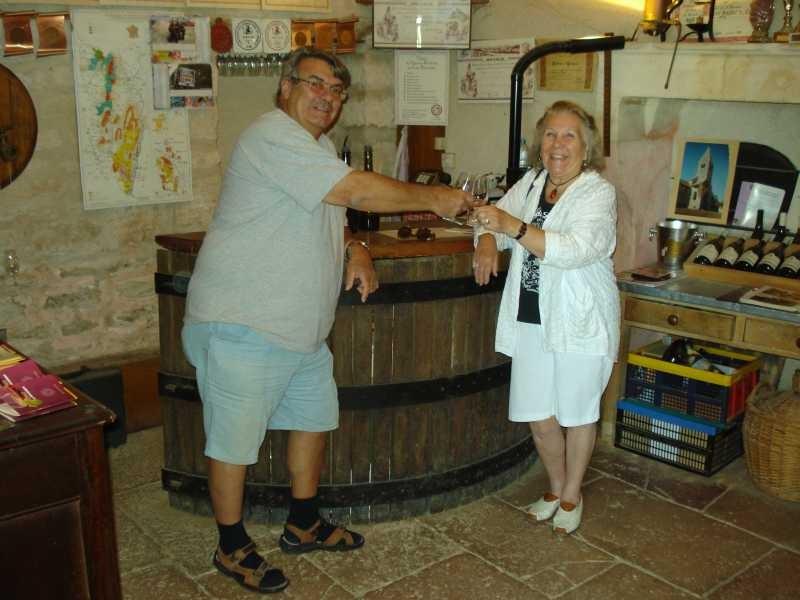Mit Freddy und Georgette auf Degustierungstour im Mercurey-Gebiet