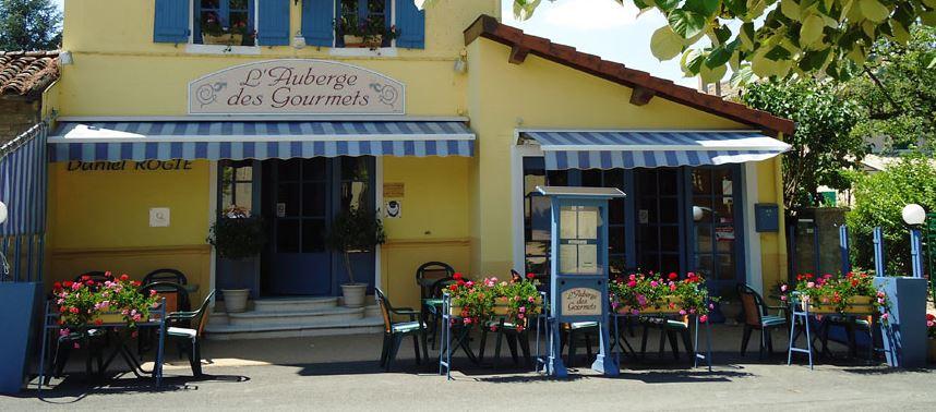 L'Auberge des Gourmets in Le Villars (südlich von Tournus)