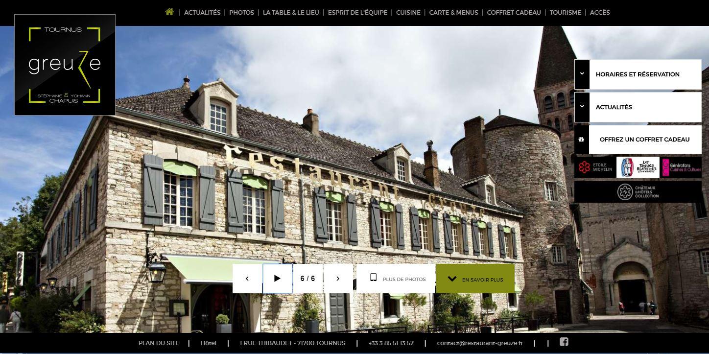 Hotel Restaurant Greuze à Tournus