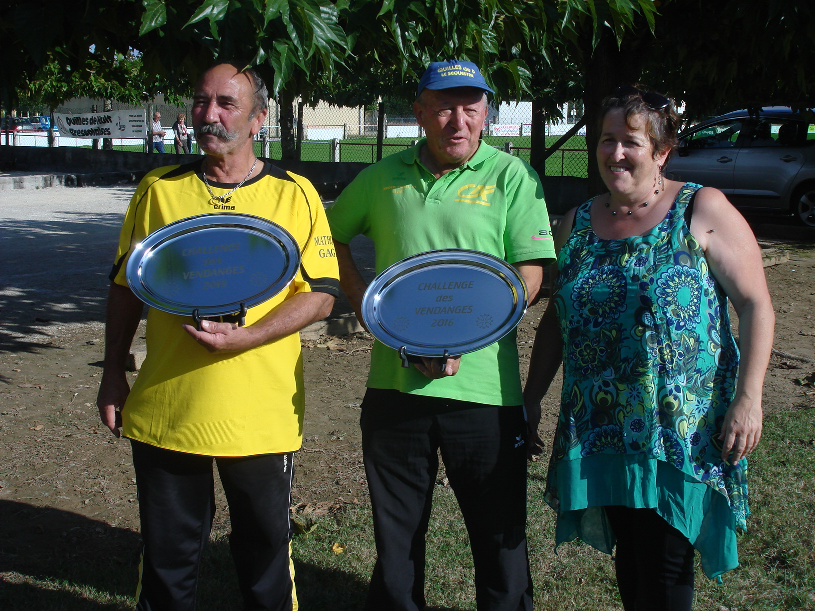 Les Vainqueurs de la catégorie Vétéran (avec Jean LAVAL)