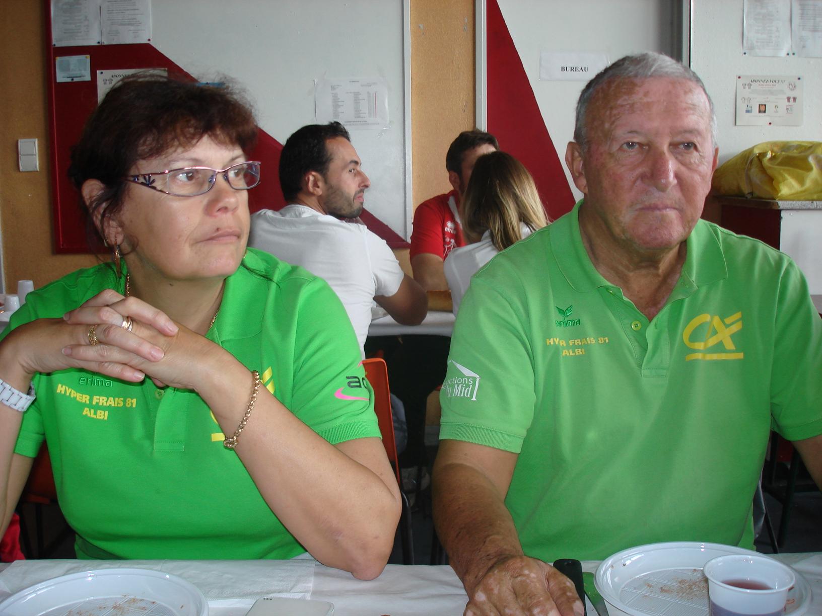 Patricia FOSCHINO et Jean LAVAL