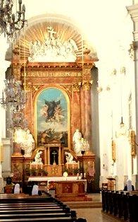 Altarraum der Gumpendorfer Pfarrkirche Hl. Ägidius
