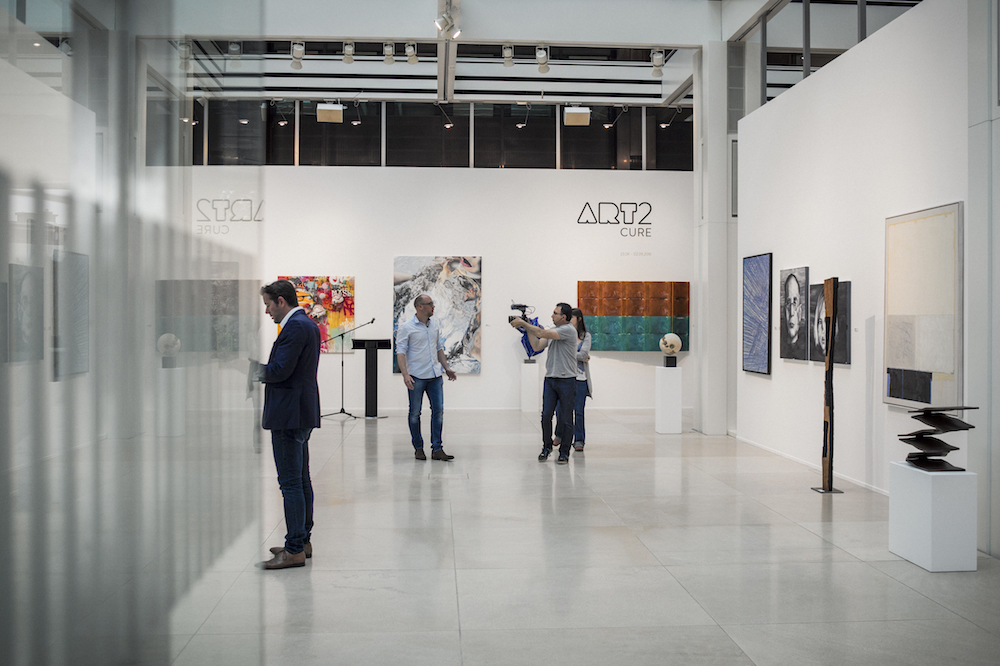 """Art2Cure"", galérie l'indépendance'16, photo by mike zenari"