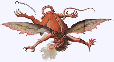 Aus: Doktor Johannes Faust's Magia naturalis et innaturalis, oder Dreifacher Höllenzwang (Scheible 1849).