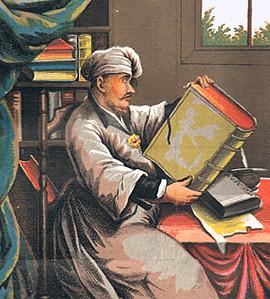 Das Bild stammt aus: Doktor Johannes Faust's Magia naturalis et innaturalis, oder Dreifacher Höllenzwang (Scheible 1849).