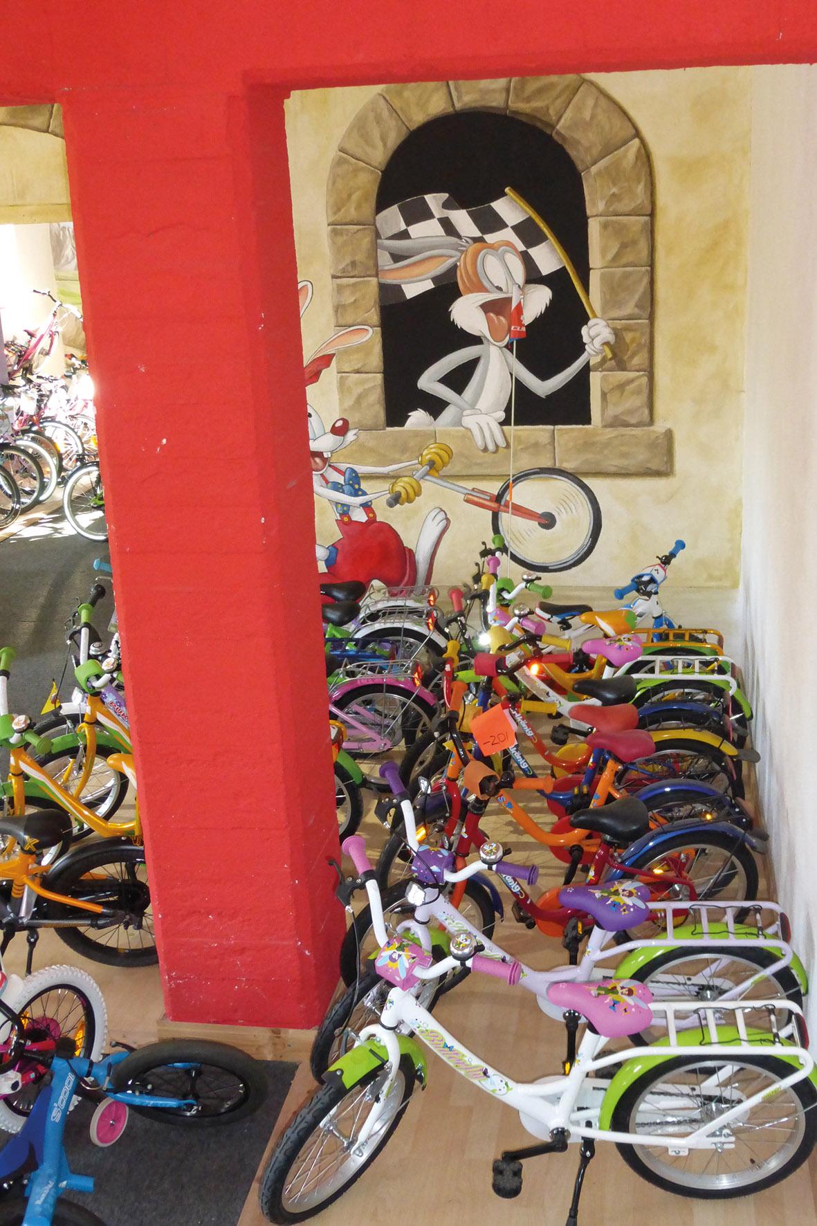 Fahrradhof Altlandsberg - Fahrräder für die Jüngsten