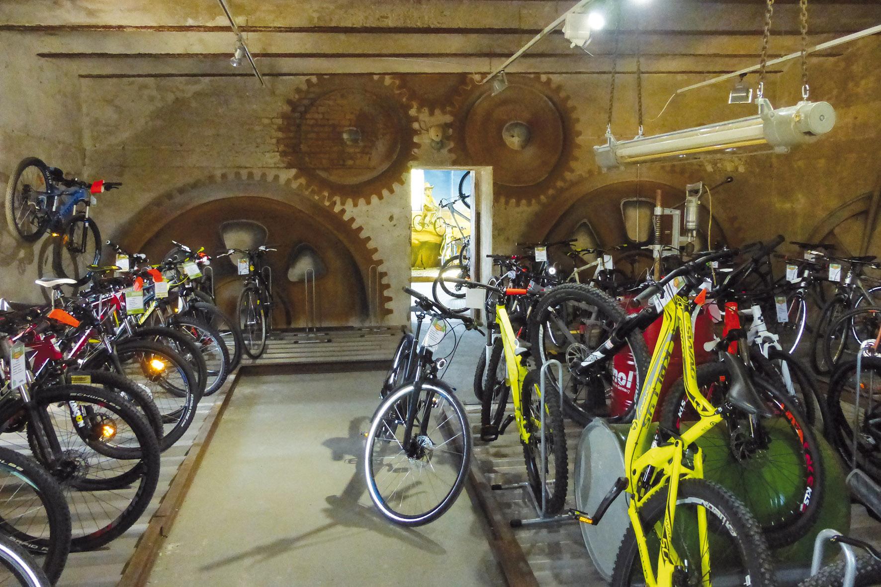 Fahrradhof Altandsberg - Fahrräder für die Älteren