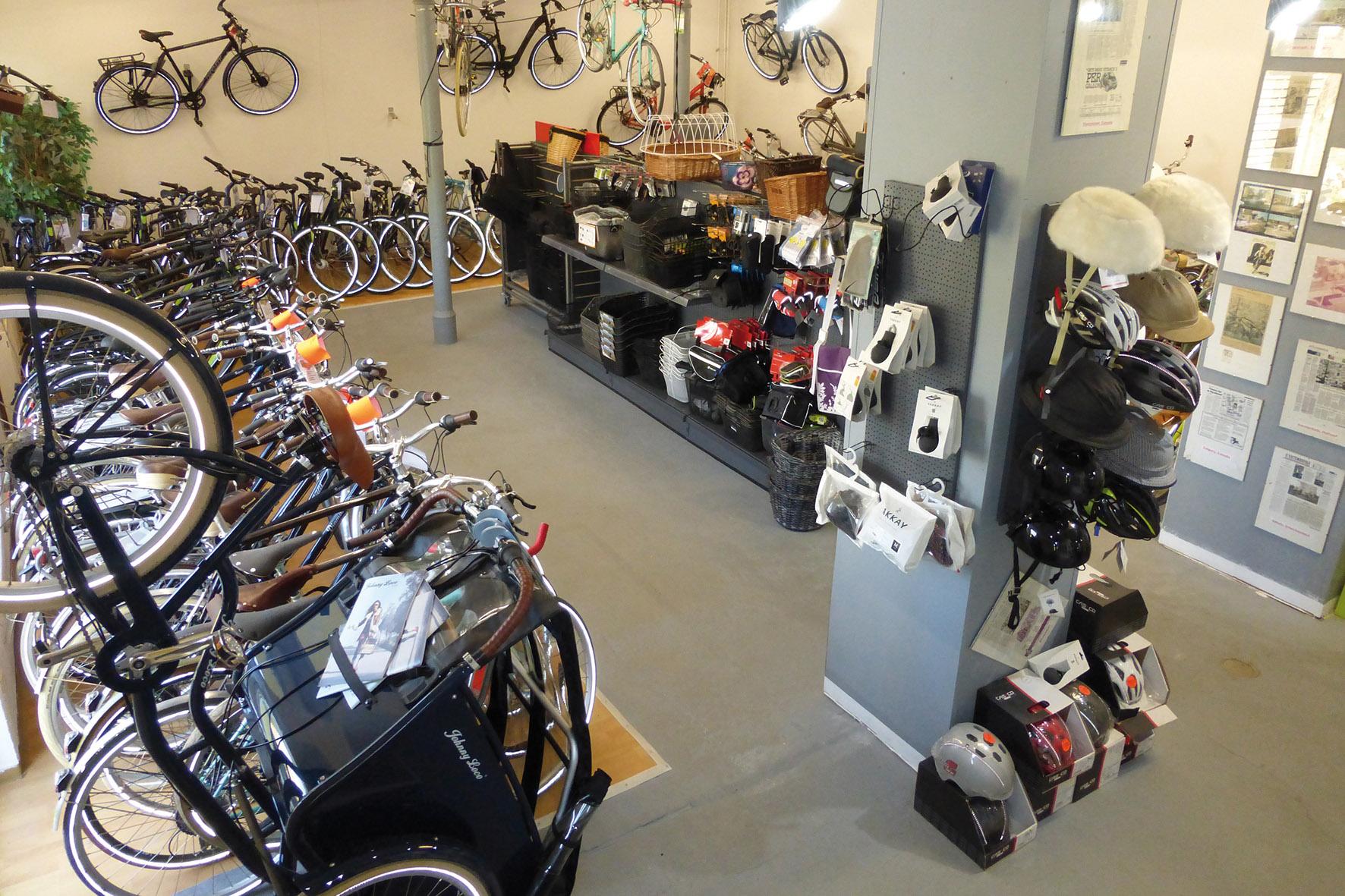 Fahrradhof Altandsberg - Verkaufsraum neu