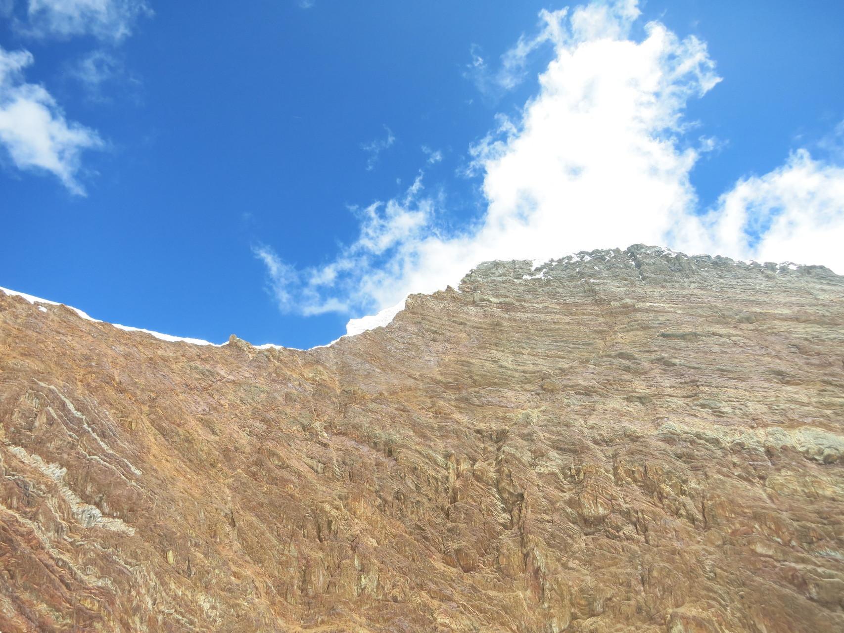 Blick zum Rasac (rechts) und Seria Norte (links)