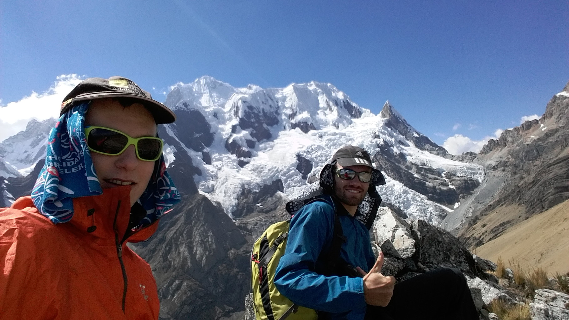 Akklimatisierungstour: Wanderung auf einen Gipfel höher als der Mont Blanc