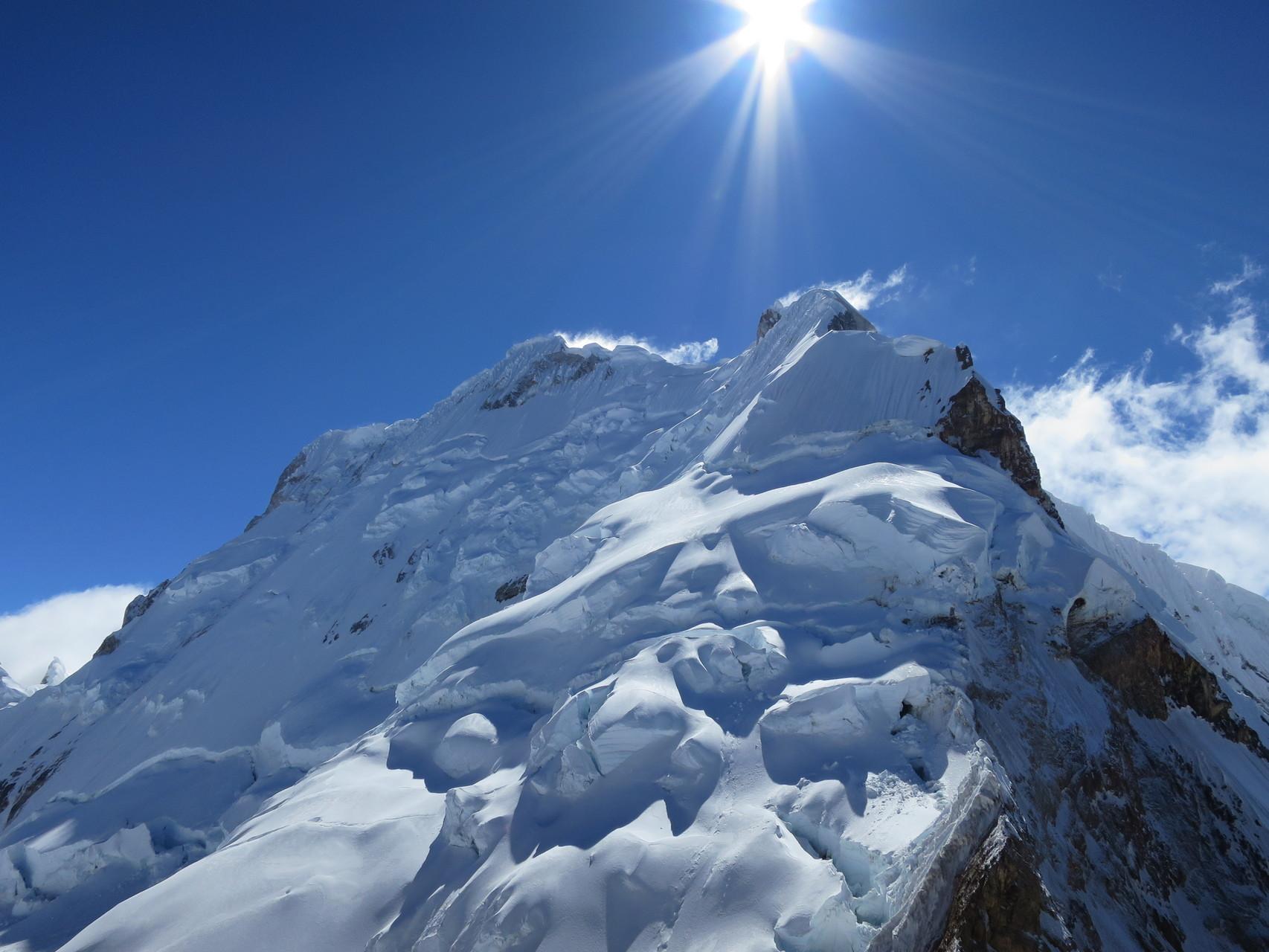 Der Yerupaja, ein eindrücklicher Berg