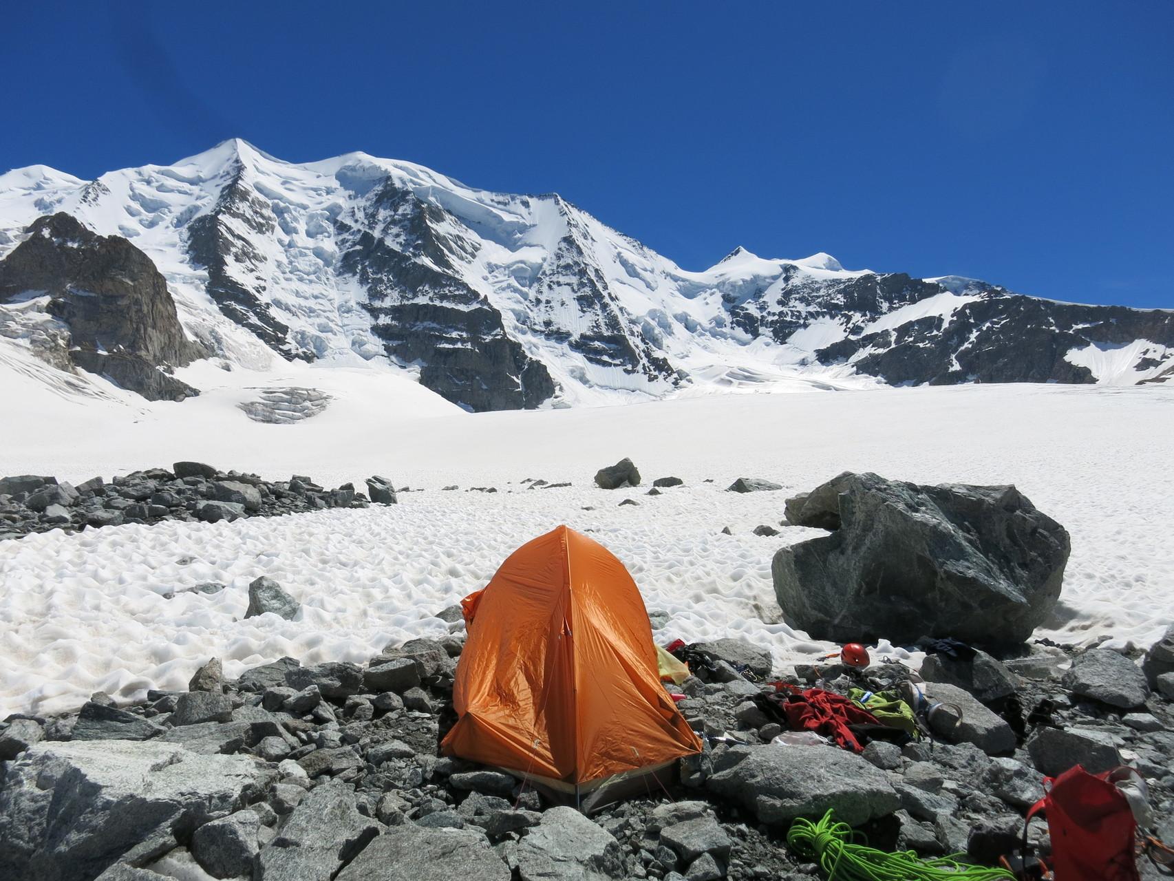 Unser neues Zelt!