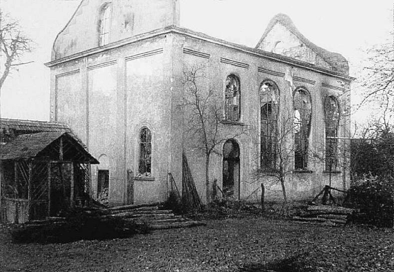 """Schändliches Ergebnis der """"Kristallnacht"""" in Burghaun"""