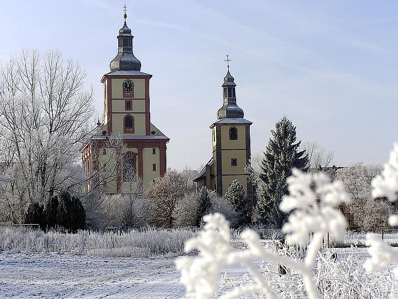 Unsere beiden Kirchen Februar 2006