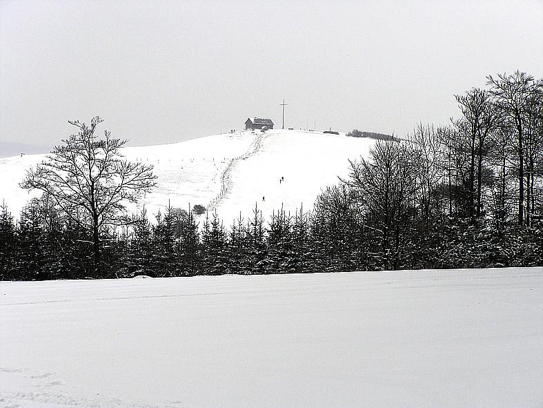 Blick zum Gläserberg bei Steinberg